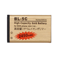 BL-5C Battery for Nokia X2-01 C1-01 C1-02 C2-01 N70 N71 N72 N91 E50 E60 2450mAh,