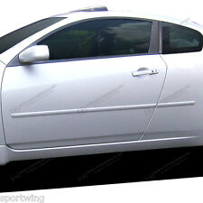 For: NISSAN ALTIMA Coupe 2 DOOR; PAINTED Body Side Moldings Mouldings 2008-2014
