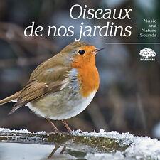 CD Biosphère – Collection Atmosphères – Oiseaux de nos jardins