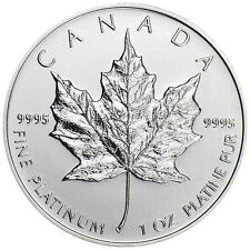 2013 1 oz Platinum Canadian Maple Leaf Coin