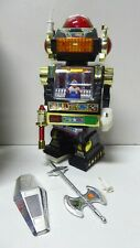 ORIGINAL VINTAGE BOXED STAR ROTO ROBOT PLASTIC BATTERY OPERATED SON AI TOY