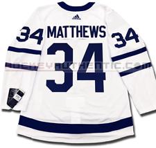 60817516861 AUSTON MATTHEWS TORONTO MAPLE LEAFS AWAY AUTHENTIC PRO ADIDAS NHL JERSEY