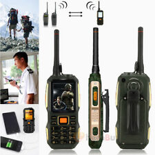Waterproof Shockproof Dual SIM Card Slot Dual Standby Mobile Phone Interphone