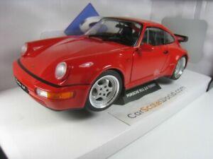 PORSCHE 911 3.6 TURBO (964) 1990 1/18 SOLIDO (RED)