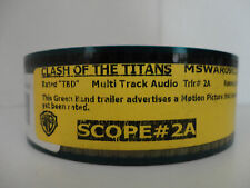 CLASH of the TITANS  35mm Movie Trailer # 2A  collectible cells SCOPE 2min 18sec