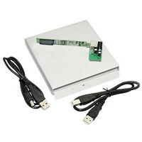 USB 2.0 to IDE External Case Enclosue For Laptop CD DVD Blu Ray Drive RW ROM BT