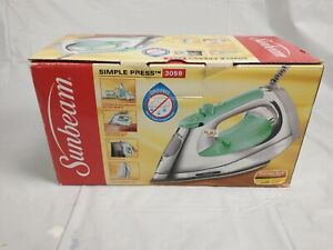 SUnbeam Corded Clothes Iron Simple Press 3059
