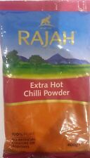RAJAH EXTRA HOT CHILLI POWDER 400G -100% pure No artificial colours or additives