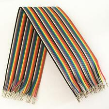 40PCS Dupont Wire Jumper Cable 30cm 2.54MM Female to Female 1P-1P Without House