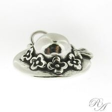 925 Sterling Silver Ladies Hat Charm Made in USA