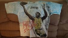 "Vintage 1990's MAGIC JOHNSON ""All Over Print"" T-Shirt - NOS Never Worn - Large"