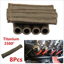 Titanium 2500°Heat Spark Plug Wire Boots Protectors LS1/LS2/LS4/LS6/LS7 Engines