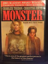 MONSTER dvd widescreen Charlize Theron Christina Ricci