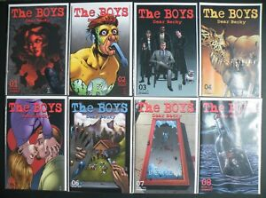 The Boys Dear Becky (Dynamite Entertainment) #1 - #8 Set 1st Print Near Mint