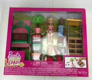Barbie Sweet Orchard Farm Chelsea Doll and Friend Veggie Garden Playset