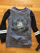 Cincinnati bengals NFL Girls Shirt NWT Sz Small Juniors