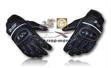 Bimbo guanti minimoto BIESSE bambino pelle moto protezioni CARBONIO nero tg XL