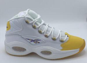 Reebok Question Mid Yellow Toe Kobe  Size 12