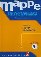 MAPPE classe 5^ STORIA-GEOGRAFIA per l'apprendimento nella scuola primaria