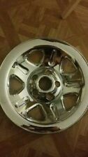 Jeep chrome plated hubcaps
