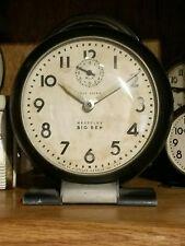 1939 Westclox BIG BEN Style 5a X-Loud Alarm-Gunmetal Art Deco Desk Clock Runs