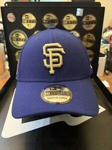 San Francisco Giants New Era 39Thirty MLB Flag Patch Collection Flex Cap Sz M/L