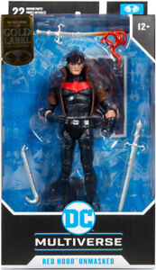 """DC Toys Multiverse DC New 52 7"""" Figure - Red Hood Unmasked"""