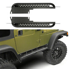 Fit 1997-2006 Jeep Wrangler TJ Side Step Armor Textured Running Board Nerf Bar