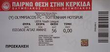 TICKET UEFA Youth League 2019/20 Olympiakos FC - Tottenham Hotspur Spurs