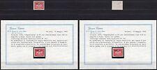Trieste, Zona A - 25 lire segnatasse, 1954 - Nuovo (** MNH) / Certificato