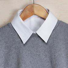 Damen Blusenkragen Krageneinsatz Gefälschte Falsche Kragen Shirt Fake Collar DE