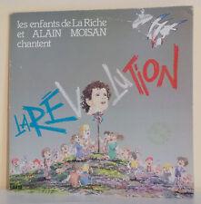 """33T Alain MOISAN et ENFANTS DE LA RICHE Vinyle LP 12"""" LA REVOLUTION - JAM 038966"""