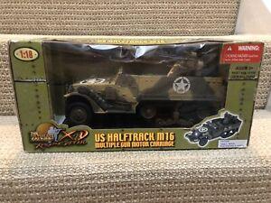 Ultimate Soldier 1:18 U.S. M16 Halftrack- Multiple Gun Motor Carriage, No. 10106