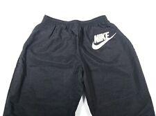 Vtg 90'S Lightweight Nike Black Big Logo Athletic Jogger Nylon Pants Xl (18-20)