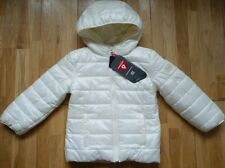 BNWT GAP Super Light Hooded Coat in Pearl White Size 4-5 yrs, Brand New!