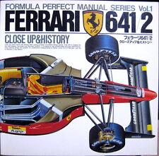Tamiya Ferrari 641/2 Close Up & and History PERFECT Manual for 1/20 1/12 Model