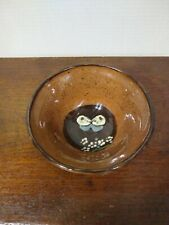 1974 Left Handed Russell Henry Pottery Butterfly decorated bowl