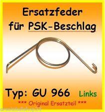 GU966 Ersatzfeder f. PSK 966 Schiebetür DIN L (Griff Links) Feder DIN Links G.U.