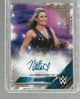 Natalya 2016 Topps WWE Then Now Forever Autograph #46/50