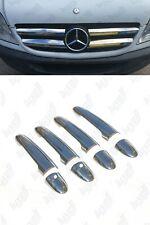 2006-2013 Mercedes Sprinter W906 Chrome Front Grill&Door Handle Cover S.Steel