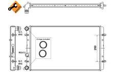 NRF Radiador, refrigeración del motor VOLKSWAGEN GOLF SEAT AUDI A3 509529