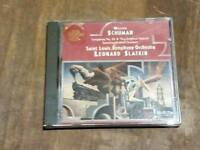 William Schuman - Symphony No 10 New England Triptych Leonard Slatkin CD
