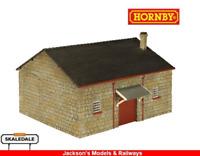 Hornby R9742 NER Goods Shed OO Gauge Building