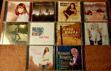 Lot of 10 Assorted COUNTRY CDs - Mary Chapin Carpenter  Suzy Bogguss +