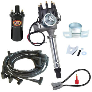 SBC/BBC Ready-to-Run Ignition Kit-PerTronix 40011/MSD 5554, Black