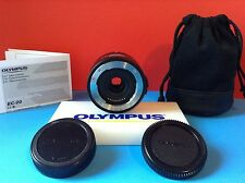 Olympus EC-20 Digital 2x Tele Converter 4/3's E5 E3 E30 E620 E520 E510 E420 E410
