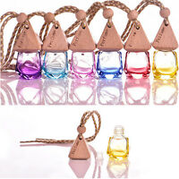 Air Freshener Car Printed Hanging  Diffuser Bottle Perfume FragranceSale