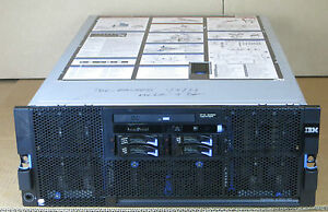 IBM X3850 M2 4x SIX-CORE XEON E7450 2.4GHz 64GB RAM 4x 72GB RAID Rack Server