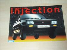 51462) Seat Malaga Prospekt 07/1988