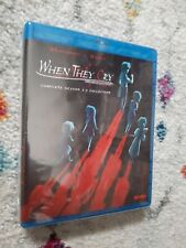 When They Cry: Complete Collection - Seasons 1-3 (Blu-ray Disc, 2017)